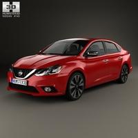 Nissan Sentra SL 2016 3D Model