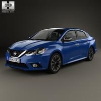 Nissan Sentra SR 2016 3D Model