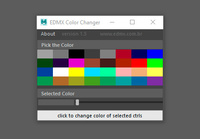 Color Changer (ctrls) 1.1.0 for Maya (maya script)