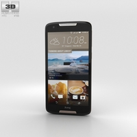 HTC Desire 828 Dual Sim Dark Gray 3D Model