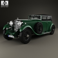 Bentley 8 Litre 1930 3D Model