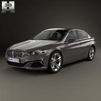 BMW Compact Sedan 2015 3D Model