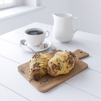 Decor Set Chocolate Croissant 3D Model