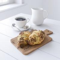Decor Set Chocolate Croissant 3D Model
