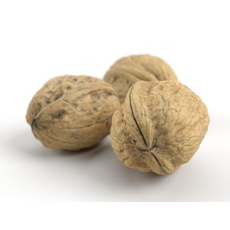 Three Different Photorealistic Walnuts 3D Model