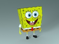 Spongebob - Bob Esponja 3D Model