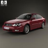 Subaru Legacy 1998 3D Model