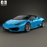 Lamborghini Huracan LP 610-4 Spyder 2015 3D Model