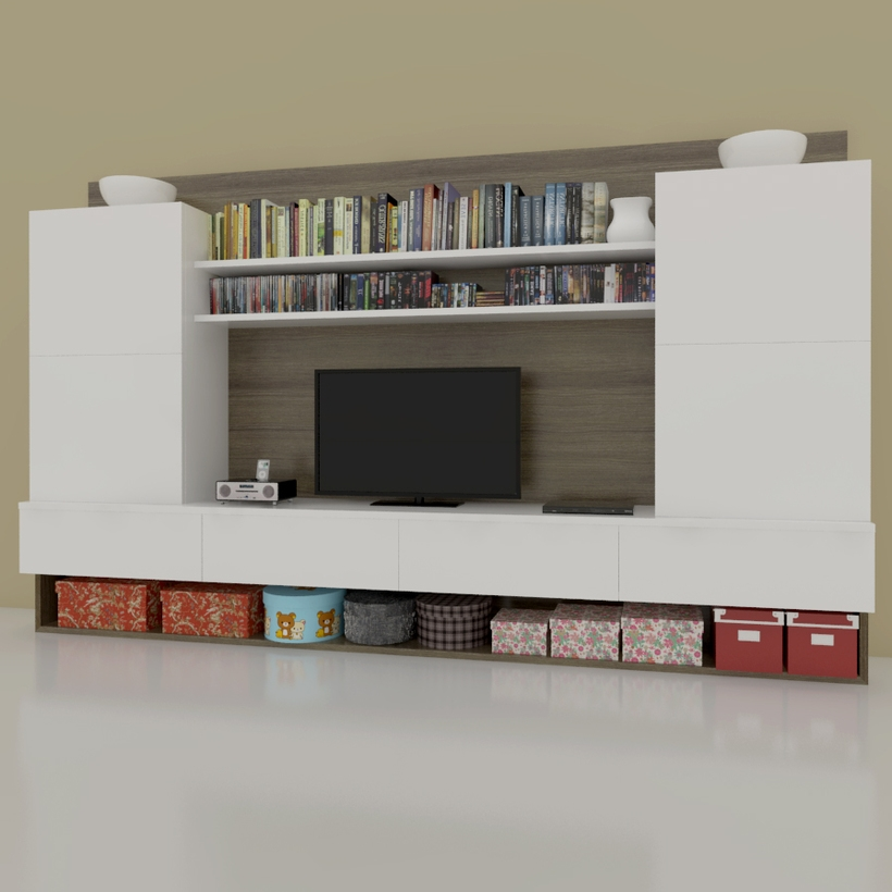 T v Console for Sketchup 3D Model