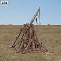 Trebuchet 3D Model