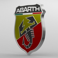 abarth logo 3D Model