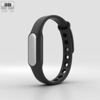 Xiaomi Mi Band Black 3D Model
