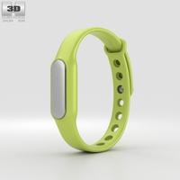 Xiaomi Mi Band Green 3D Model