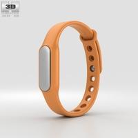 Xiaomi Mi Band Orange 3D Model