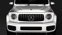 Mercedes AMG G 63 W464 2019 3D Model