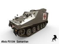 Alvis FV104 Samaritan 3D Model