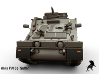 Alvis FV105 Sultan 3D Model