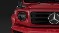 Mercedes Benz G 500 Night Packet W464 2018 3D Model