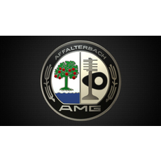 amg logo 2 3D Model