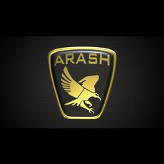 arash logo 2 3D Model