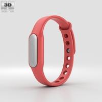 Xiaomi Mi Band Red 3D Model