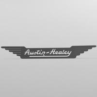austin healey logo 3D Model