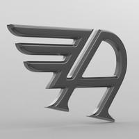 austin logo 3D Model