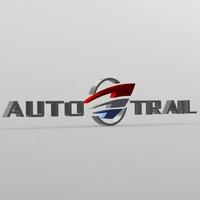 auto trail logo 3D Model