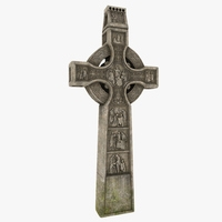 Celtic Cross 3D Model