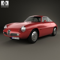Alfa Romeo Giulietta 1960 3D Model