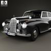 13 40 39 636 mercedes benz 300 limousine  w186  1951 600 0006 4