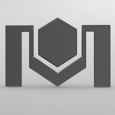 belkomunmash logo 2 3D Model