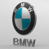 bmw logo 3D Model