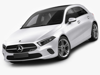 Mercedes-Benz A-class 2019 3D Model