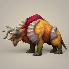 Fantasy Bull 3D Model