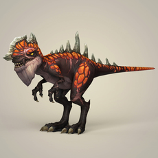Fantasy Warrior Dinosaur 3D Model