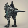 12 21 31 441 game ready fantasy robot dinosaur 04 4