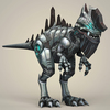 12 21 31 879 game ready fantasy robot dinosaur 06 4