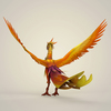 12 37 43 115 game ready fantasy phoenix bird 07 4