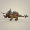 12 40 37 668 game ready fantasy triceratops 03 4