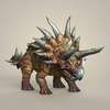 12 40 39 495 game ready fantasy triceratops 06 4