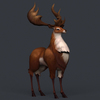 12 54 57 445 game ready fantasy deer 06 4