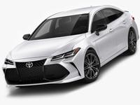 Toyota Avalon Touring 2019 XSE 3D Model