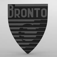 bronto_logo 3D Model