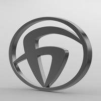 bzkt_logo 3D Model