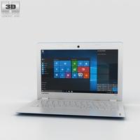 Lenovo Ideapad 100S Blue 3D Model