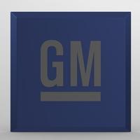 General Motors logo 3D Model