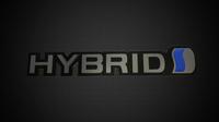 hybrid logo 3D Model