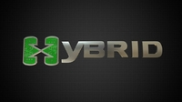 hybrid logo 2 3D Model