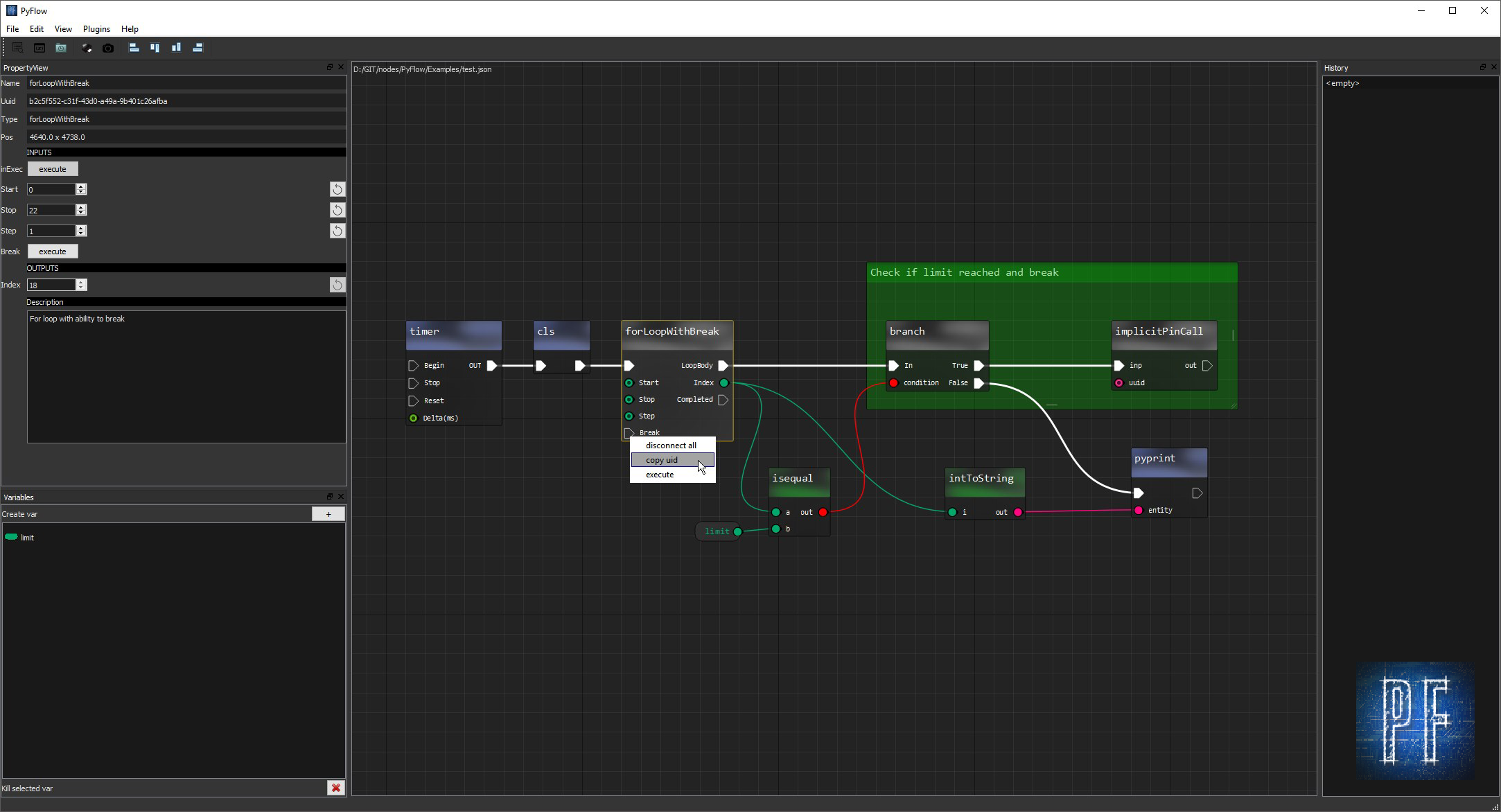 Qt node editor for Maya